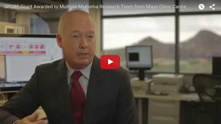 National Cancer Institute Awards SPORE Grant to Multiple Myeloma Research Team From Mayo Clinic Cancer Center