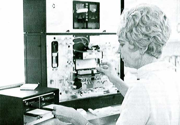 Hematology Laboratory's New 'Counter' Cuts Routine Test Time #ThrowbackThursday
