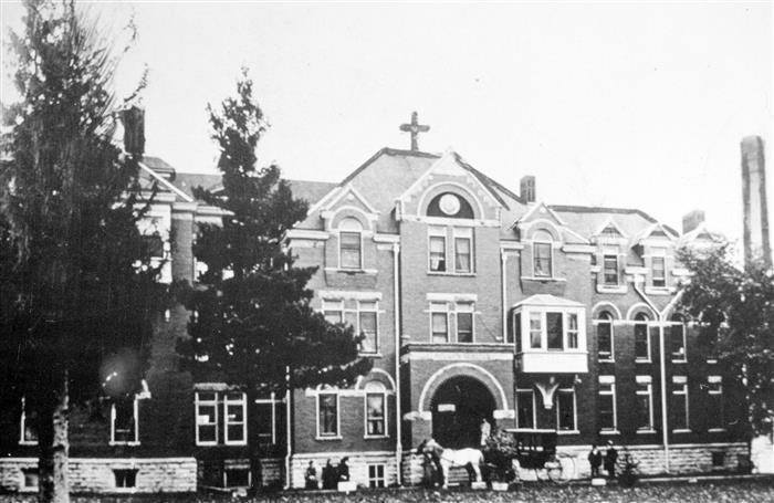 Saint Marys Campus in 1899 #ThrowbackThursdays