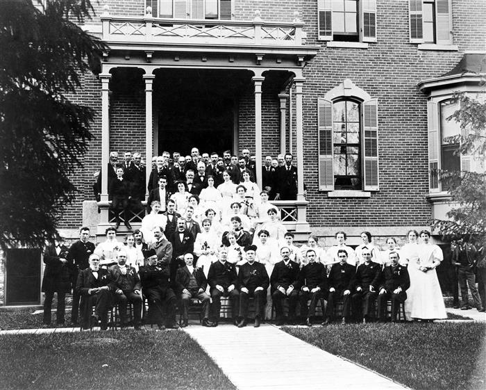 First Saint Marys Hospital Expansion Dedicated in 1894 #ThrowbackThursday