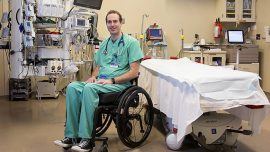 Favorite Mayo Clinic Stories of 2018: Emergency Medicine Physician Back to Work after Accident That Left Him Paralyzed #ThrowbackThursday