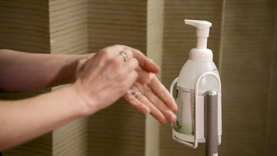 Hand Sanitizer Video